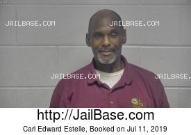 CARL EDWARD ESTELLE mugshot picture