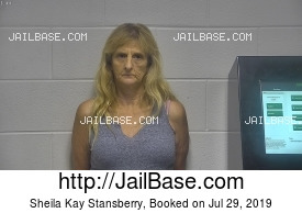 SHEILA KAY STANSBERRY mugshot picture