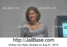 CHRISTY LEA HOPE mugshot picture