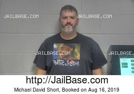 MICHAEL DAVID SHORT mugshot picture
