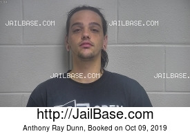 ANTHONY RAY DUNN mugshot picture