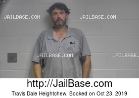 TRAVIS DALE HEIGHTCHEW mugshot picture