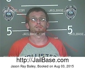 JASON RAY BAILEY mugshot picture
