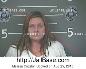 MELISSA GRIGSBY mugshot picture