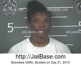DEANDREA GRIFFIN mugshot picture