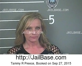 TAMMY R PREECE mugshot picture