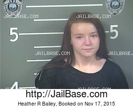 HEATHER R BAILEY mugshot picture