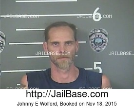 JOHNNY E WOLFORD mugshot picture