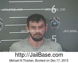 MICHAEL N THACKER mugshot picture