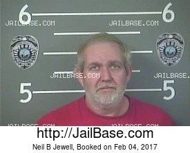NEIL B JEWELL mugshot picture