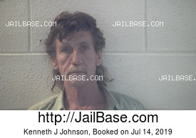 KENNETH J JOHNSON mugshot picture