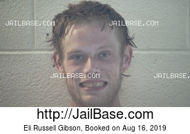 ELI RUSSELL GIBSON mugshot picture