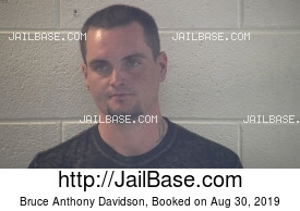 BRUCE ANTHONY DAVIDSON mugshot picture