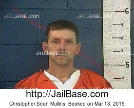 CHRISTOPHER SEAN MULLINS mugshot picture