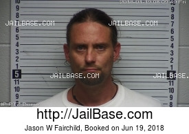 JASON W FAIRCHILD mugshot picture