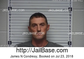 JAMES N CONDREAY mugshot picture