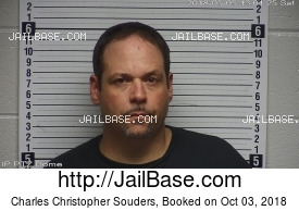CHARLES CHRISTOPHER SOUDERS mugshot picture