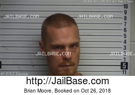 BRIAN MOORE mugshot picture