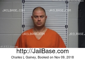 CHARLES L GAINEY mugshot picture