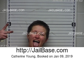 CATHERINE YOUNG mugshot picture
