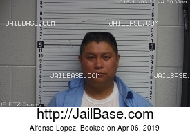 ALFONSO LOPEZ mugshot picture