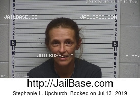 STEPHANIE L. UPCHURCH mugshot picture
