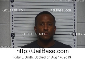 KIRBY E SMITH mugshot picture