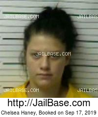 CHELSEA HANEY mugshot picture