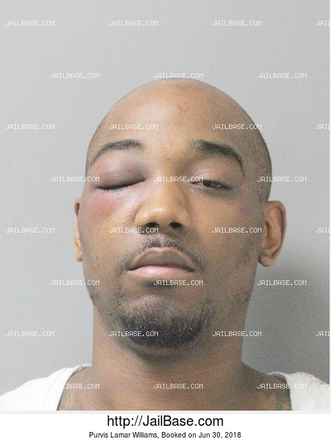 PURVIS LAMAR WILLIAMS mugshot picture
