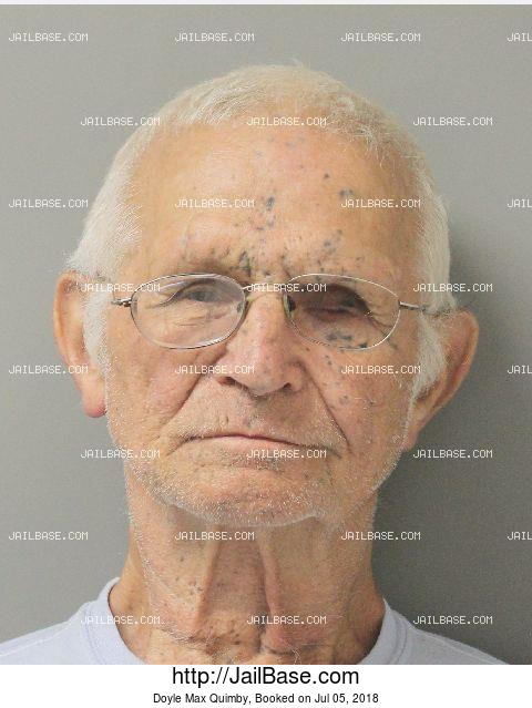 DOYLE MAX QUIMBY mugshot picture