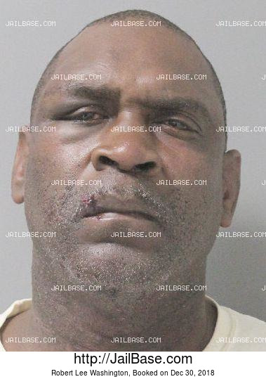 ROBERT LEE WASHINGTON mugshot picture