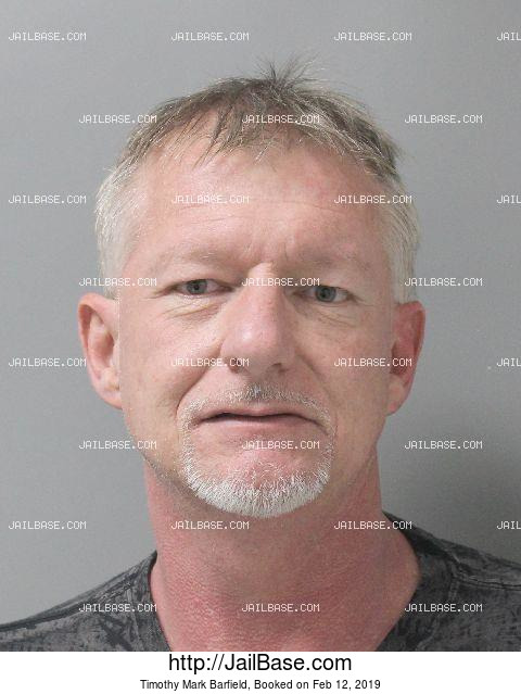 TIMOTHY MARK BARFIELD mugshot picture