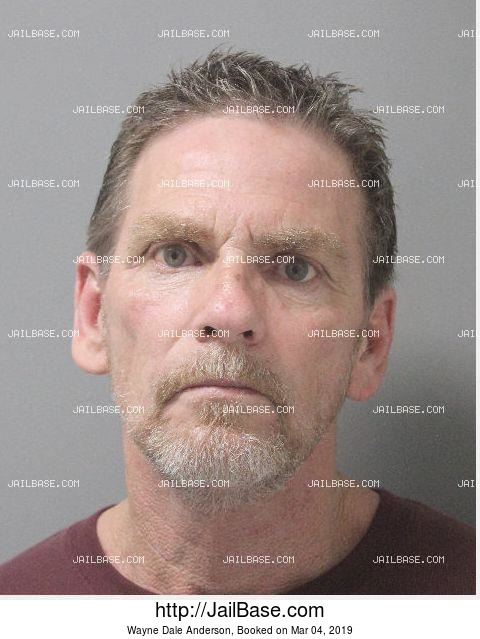 WAYNE DALE ANDERSON mugshot picture