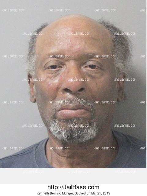 KENNETH BERNARD MONGER mugshot picture