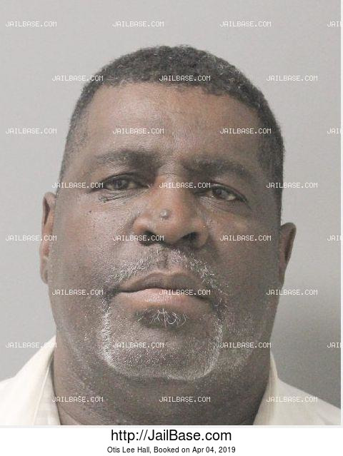 OTIS LEE HALL mugshot picture
