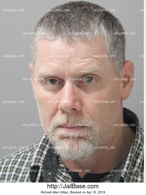 RICHARD ALLEN KILLIAN mugshot picture
