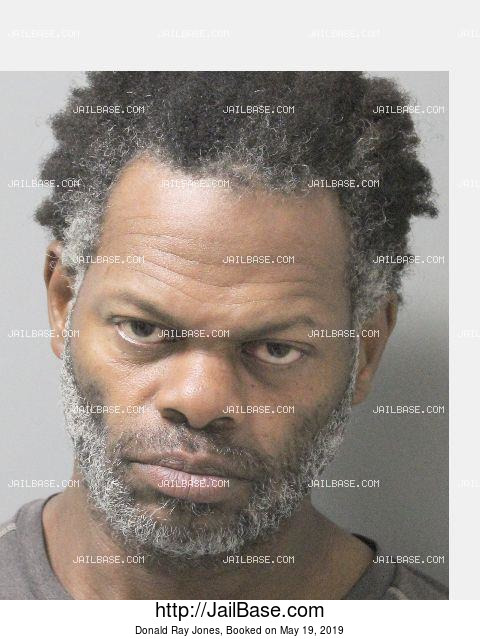 DONALD RAY JONES mugshot picture