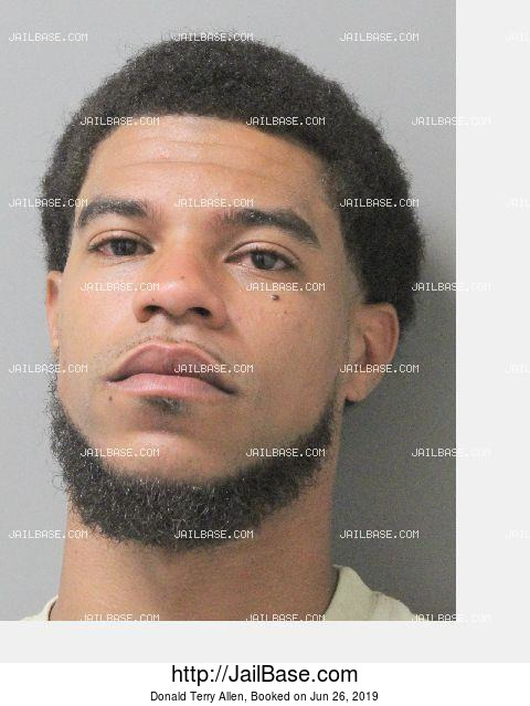 DONALD TERRY ALLEN mugshot picture
