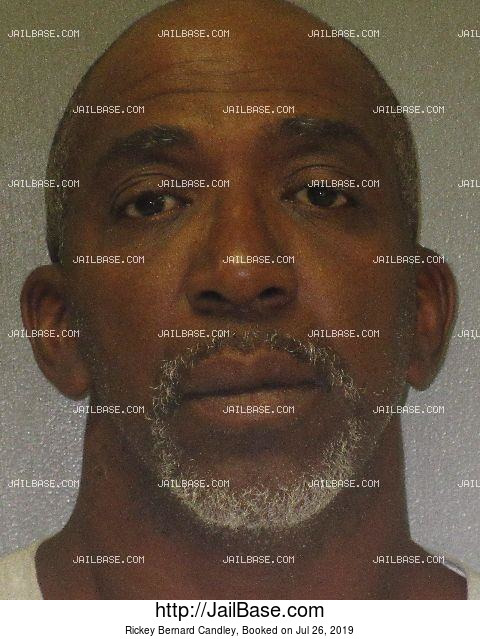 RICKEY BERNARD CANDLEY mugshot picture