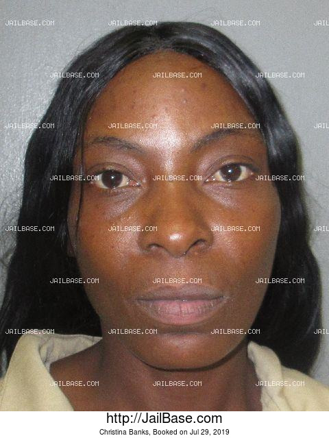 CHRISTINA BANKS mugshot picture