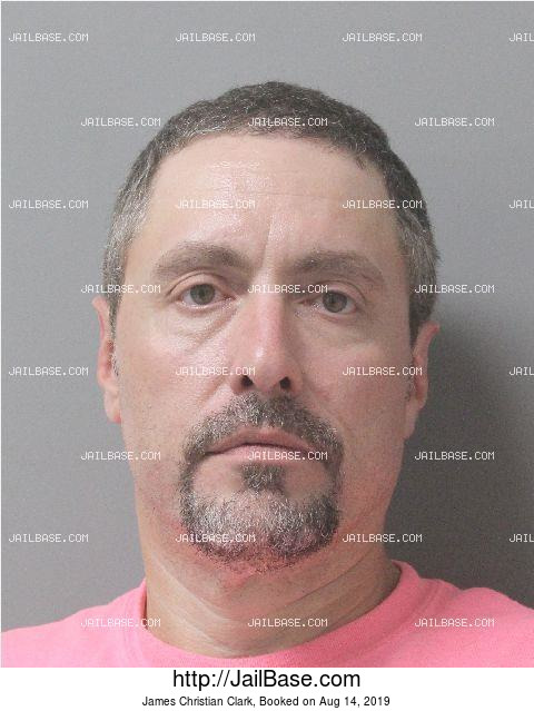 JAMES CHRISTIAN CLARK mugshot picture