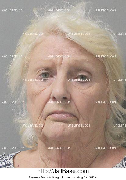 GENEVA VIRGINIA KING mugshot picture