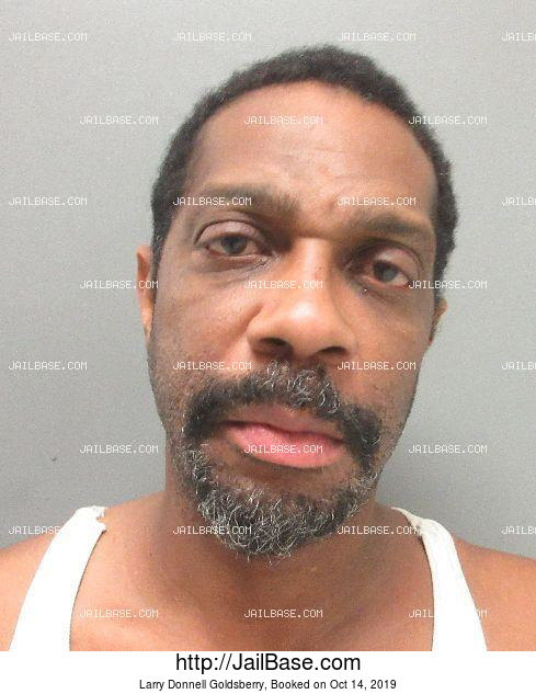 LARRY DONNELL GOLDSBERRY mugshot picture