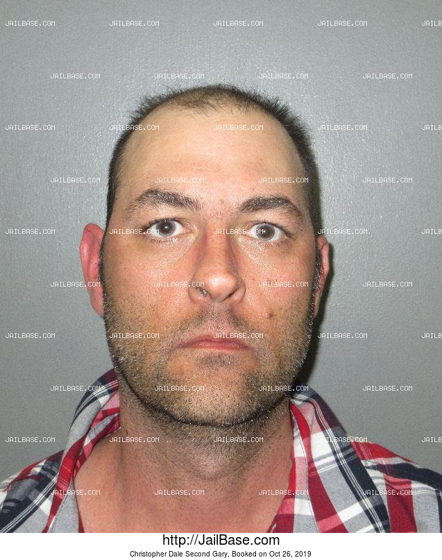 CHRISTOPHER DALE Second GARY mugshot picture