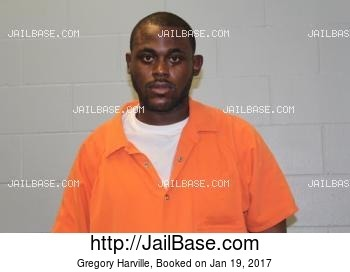 GREGORY HARVILLE mugshot picture
