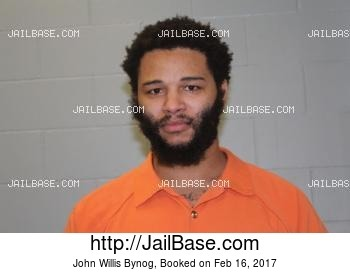 JOHN WILLIS BYNOG mugshot picture