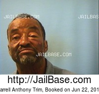 DARRELL ANTHONY TRIM mugshot picture