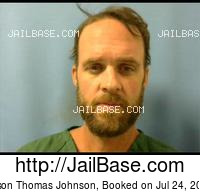 JASON THOMAS JOHNSON mugshot picture