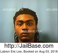 LABRON ERIC LEE mugshot picture