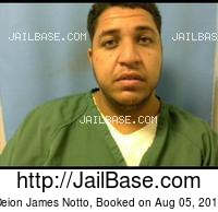 DEION JAMES NOTTO mugshot picture